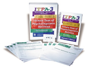 Picture of Illinois Test of Psycholinguistic Abilities- ITPA-3