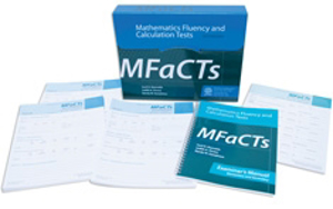 Picture of Mathematics Fluency and Calculation Tests (MFaCTs) - Complete Secondary Kit