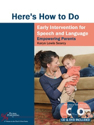 Picture for category Here's How to do Early Intervention for Speech and Language: