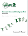 Picture of UNIT2 Universal Nonverbal Intelligence Test with case