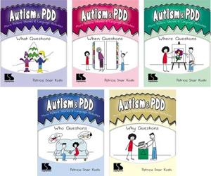 Picture of Autism & PDD More Picture Stories & Language Activities 5-Program Set
