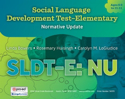 Picture for category Social Language Development Test Elementary: NU