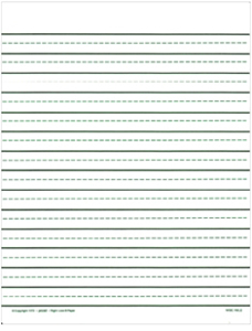 Picture of Right-Line Paper/Wide 250 Sheets