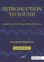 Picture of Introduction to Sound: Acoustics for the Hearing and Speech Sciences