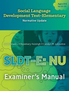 Picture of Social Language Development Test- Elem NU Manual