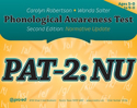 Picture of Phonological Awareness Test–Second Edition: Normative Update (PAT-2: NU)