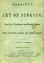 Picture for category Bassini's The Art of Singing
