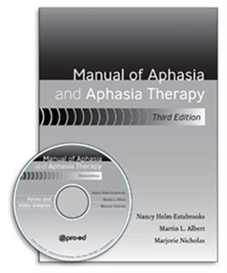 Picture of Manual of Aphasia and Aphasia Therapy 3rd Edition
