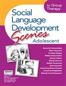 Picture of Social Language Develop Scenes Adolescent