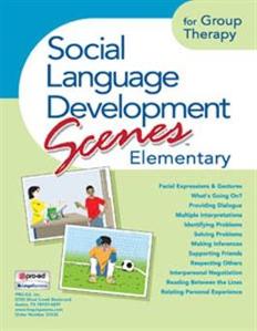 Picture of Social Language Development Scenes Elementary