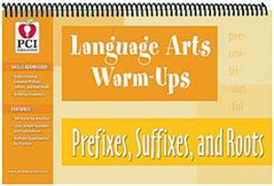 Picture of Language Arts Warm-Ups Pref,Suff,Root