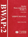 Picture for category Becker Work Adjustment Profile: BWAP-2