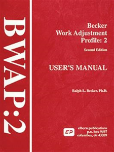 Picture of Becker Work Adjustment Profile:2