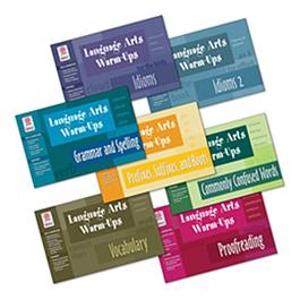Picture of Language Art's Warm-Ups 7 Book Set