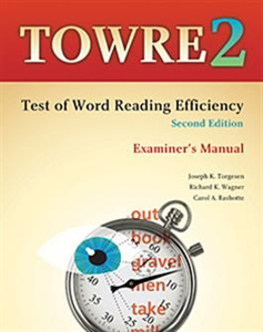 Picture of TOWRE-2 Examiners Manual