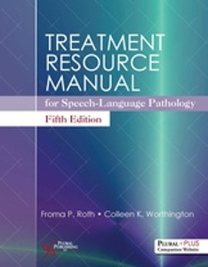 Picture of Treatment Resource Manual for Speech-Language Pathology