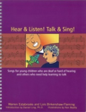 Picture of Hear and Listen! Talk and Sing!