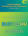 Picture of Social Language Develop Test-Elem-NU-Scoring Standards