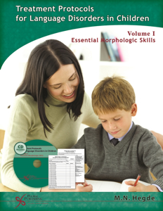 Picture of Treatment Protocols for Language Disorders in Children - Volume I Essential Morphologic Skills