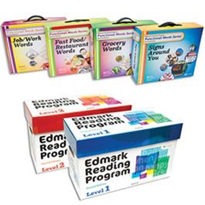Picture of Edmark Reading Program: Levels 1 and 2 – Second Edition, Print Version and Edmark Functional Words Series – Second Edition COMBO