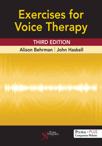 Picture of Exercises for Voice Therapy - Third Edition