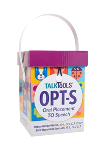 Picture of Oral Placement to Speech Kit (OPT-S) Articulation Card Set