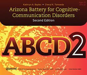 Picture of ABCD-2: Arizona Battery for Cognitive-Communication Disorders, Second Edition–Complete Kit