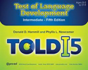 Picture for category Test of Language Development–Intermediate: Fifth Edition, TOLD-I:5: Complete Kit