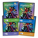 Picture of Algebra City - Student Edition Single Pack (1 ea. Books 1-4)
