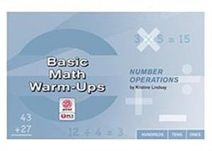 Picture of Basic Math Warm-Ups: Number Operations
