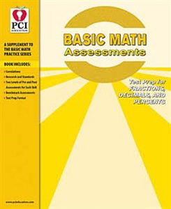 Picture of Basic Math Assessments: Fractions, Decimals, and Percents