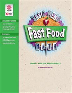 Picture of Fast Food Basic Menu Math