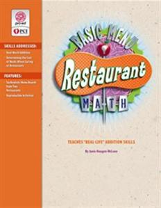 Picture of Restaurant Basic Menu Math