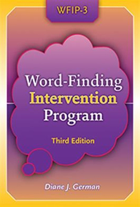 Picture of WFIP-3: Word-Finding Intervention Program, Third Edition
