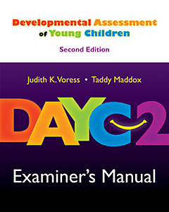 Picture of DAYC-2 Examiner's Manual