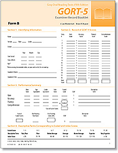 Picture of GORT-5 Examiner Record Book Form B (25)