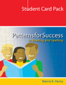 Picture of Patterns for Success Student Card Pack