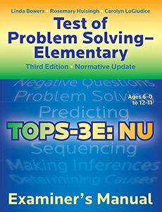 Picture of TOPS-3 ELEMENTARY: NU Examiner's Manual