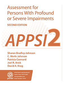 Picture of APPSI-2: Assessment for Persons With Profound or Severe Impairments-Second Edition, Complete Kit