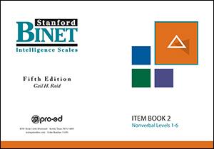 Picture of SB5 Item Book 2 (Nonverbal Subtest)