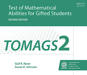 Picture of TOMAGS-2: Test of Mathematical Abilities for Gifted Students - Second Edition