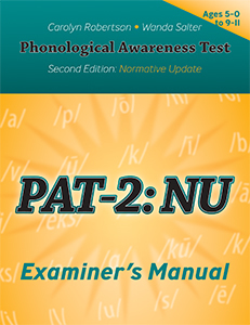 Picture of PAT-2: NU Examiner's Manual