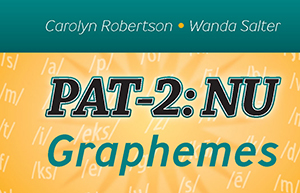 Picture of PAT-2: NU Phoneme-Grapheme Corespondence Stimuli Booklet