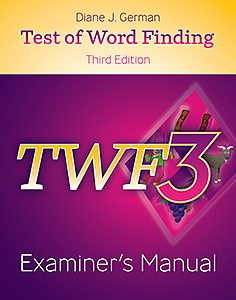 Picture of TWF-3 Examiner's Manual