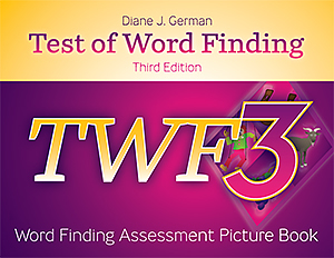 Picture of TWF-3 Word Finding Assessment Picture Book