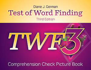 Picture of TWF-3 Comprehension Check Picture Book