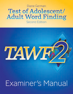 Picture of TAWF-2: Examiner's Manual