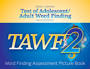 Picture of TAWF-2: Word Finding Assessment Picture Book