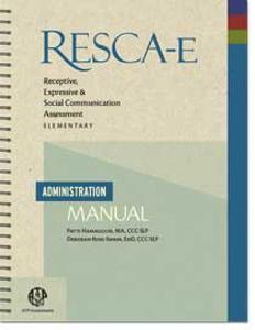 Picture of RESCA-E Administration Manual
