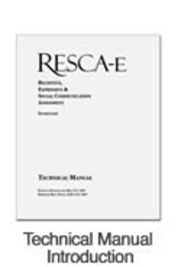 Picture of RESCA-E Technical Manual